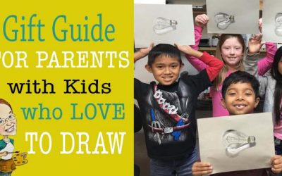 Gift guide for parents with kids who love to draw.